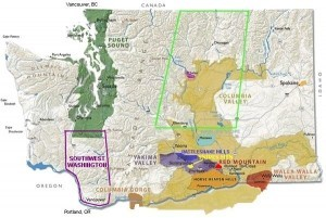 Washington State wines:  everything in balance !