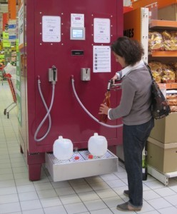 Wine in vending machines?