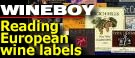 WINEBOY: Decoding European labels